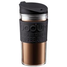 Bodum TRAVEL MUG Travel Mug, Kunststoff, 0.35 l schwarz