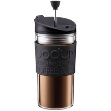 Bodum TRAVEL PRESS Kaffeebereiter, 0.35 l schwarz