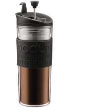Bodum TRAVEL PRESS Kaffeebereiter, 0.45 l schwarz