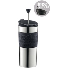 Bodum TRAVEL PRESS SET 0.35L Kaffeebereiter schwarz