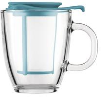 Bodum YO-YO SET Glastasse mit Kunststofffilter, 0.35 l