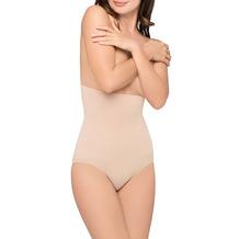 Body Wrap Bauchweg Unterhose Body Shaper Miederhose Hose nahtlose Figurformung Haut L (42)