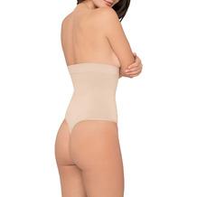 Body Wrap Miederstring Miederhose Body Shaper Bauchweg Unterhose nahtlose Figurformung Haut 1X (46)
