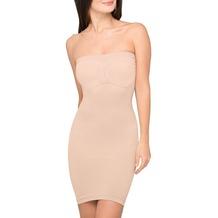 Body Wrap Taillenformer Bauch weg Mieder Miederkleid Kleid Miederrock Rock Figurformer mit Bügel Haut 38 (S)
