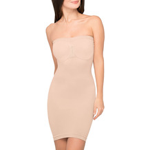 Body Wrap Unterkleid Kleid Bodyformer nahtlose Figurformung Haut L (42)