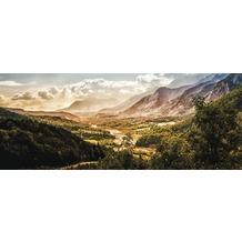 Bönninghoff Glasbild mit Sicherheitsglasoberfläche, Berge und Tal