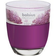 Bolsius Duftglas gefüllt 120/100mm Fliederblüte