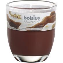 Bolsius Duftglas gefüllt 80 x 70 mm Sandelholz