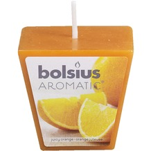 Bolsius Duftvotive konisch 47x47mm 12er Box saftige Orange