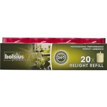 Bolsius ReLight Nachfüller 20er Tray fuchsia