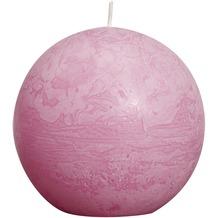 Bolsius Rustik Kugelkerzen ø 80 mm pink