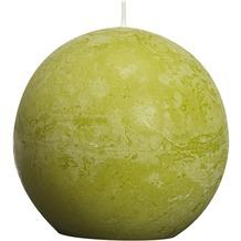 Bolsius Rustik Kugelkerzen ø 80 mm schilf grün