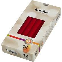 Bolsius Spitzkerzen 245/24 mm bx12, altrot