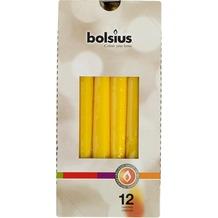Bolsius Spitzkerzen 245/24 mm bx12, gelb