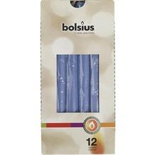 Bolsius Spitzkerzen 245/24 mm bx12, kornblumenblau