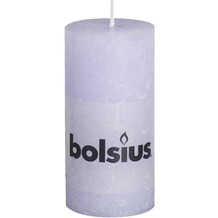 Bolsius Rustik Stumpenkerze 100 x 50 mm pastell lila