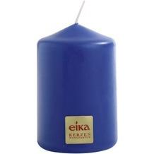 EIKA Stumpenkerze, glatt H70 x Ø 50 mm Azurblau