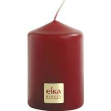 EIKA Stumpenkerze, glatt H70 x Ø 50 mm Bordeaux