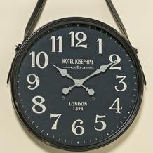 Boltze Wand-Uhr Marsha D51cm schwarz