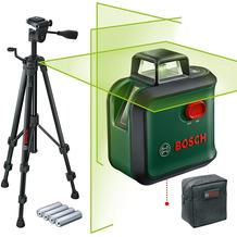 Bosch Kreuzlinienlaser AdvancedLevel 360 Set (mit Stativ)
