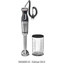 Bosch MSM88110 Stabmixer schwarz / Edelstahl gebürstet