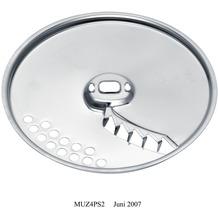 Bosch MUZ45PS1 Pommes frites-Scheibe, Edelstahl Für Durchlaufschnitzler der MUM4 und MUM5 sowie für die MCM55 und MCM6