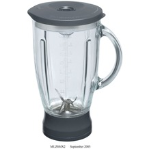 Bosch MUZ8MX2 Mixer-Aufsatz Glas