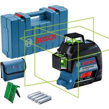 Bosch Professional Linienlaser GLL 3-80 G (im Handwerkerkoffer)