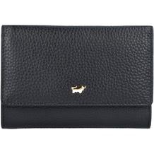 Braun Büffel Ascoli Geldbörse Leder 14 cm schwarz