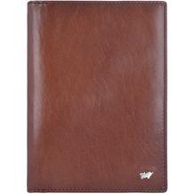 Braun Büffel Basic Ausweisetui Leder 12 cm palisandro