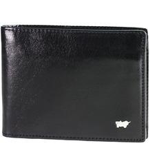 Braun Büffel Basic Geldbörse I Leder 11,5 cm schwarz