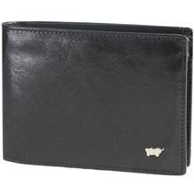 Braun Büffel Basic Geldbörse I Leder 12 cm nachtschwarz