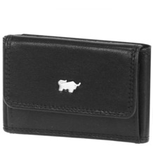 Braun Büffel Basic Geldbörse I Leder 9,5 cm schwarz