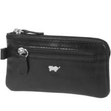 Braun Büffel Basic Schlüsseletui V Leder 10 cm schwarz