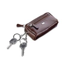 Braun Büffel Basic Schlüsseletui Leder 11 cm cognac