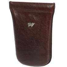 Braun Büffel Basic Schlüsseletui Leder 9 cm palisandro
