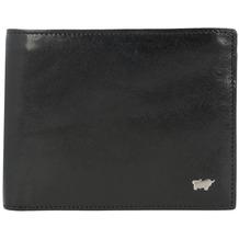 Braun Büffel Country Secure Geldbörse RFID Leder 13 cm schwarz