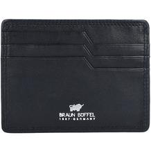 Braun Büffel Golf Kreditkartenetui RFID Leder 10,5 cm schwarz