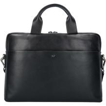 Braun Büffel Livorno L Aktentasche Leder 39 cm Laptopfach schwarz