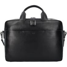 Braun Büffel Livorno L Aktentasche Leder 40 cm Laptopfach schwarz