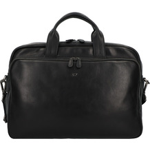 Braun Büffel Parma Aktentasche Leder 40 cm Laptopfach schwarz