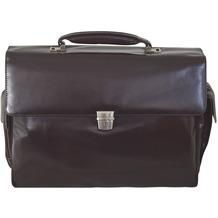 Braun Büffel Texas Aktentasche Leder 43 cm Laptopfach braun
