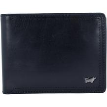 Braun Büffel Venice Geldbörse Leder 12,5 cm schwarz