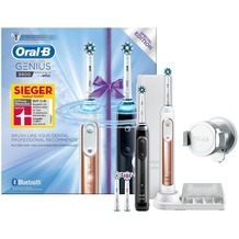 Oral-B Genius 9900 rose gold + schwarz