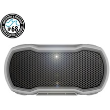 Braven Ready Pro Outdoor Series Bluetooth-Lautsprecher, 2600mAh, IP68, grau/orange