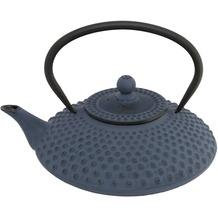 Bredemeijer asiatische Teekanne Gusseisen Jing 1,25 ltr. blaue Noppenstruktur