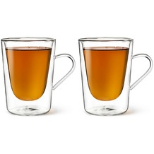 Bredemeijer Glas doppelwandig Kaffee- und Tee, 29,5cl, 2-er Set