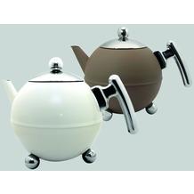 Bredemeijer Teekanne Duet® BellaRonde weiß 1,2 l
