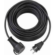 Brennenstuhl Gummikabel IP 44, Schwarz 10m