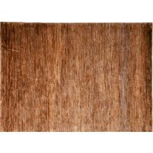 Brigitte Home Teppich Global Passion 310 braun handgeknüpft 70 cm x 140 cm